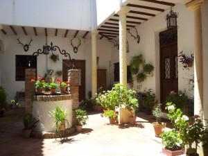 дворик в Испании (Андалусия)